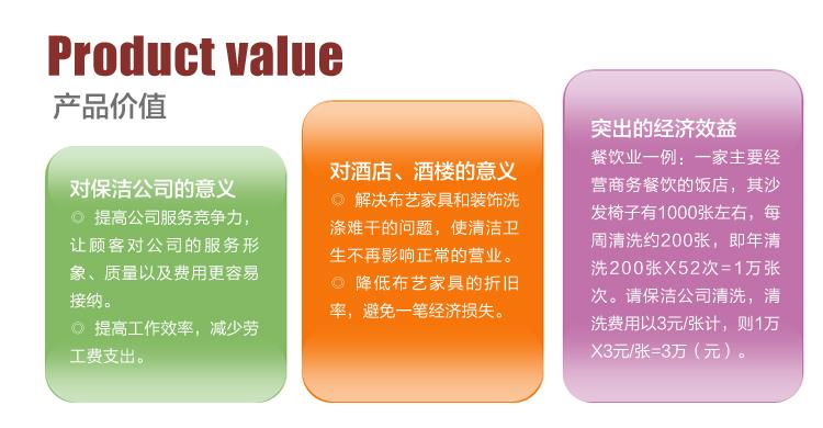 沙发清洗机_沙发清洗机GMS-1产品价值
