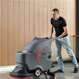 GM56BT高美全自动洗地机|手推式大刷盘洗地机