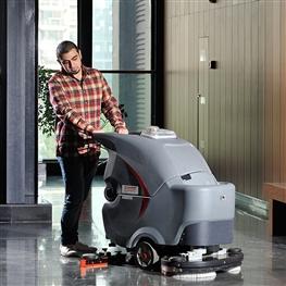 GM70BT高美手推双刷洗地机|全自动洗地机
