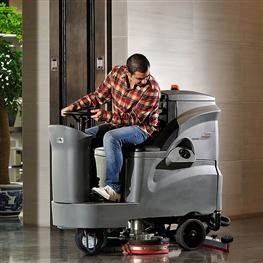 GM110BT85高美驾驶式洗地车|中型驾驶式洗地机