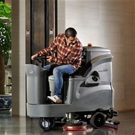 洗地车_驾驶式洗地机GM110BT85