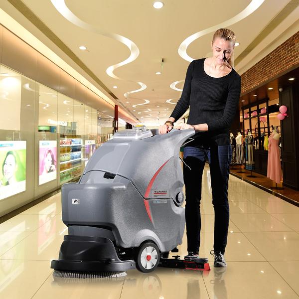 全自动洗地机对工厂企业清洁好处都有哪些?